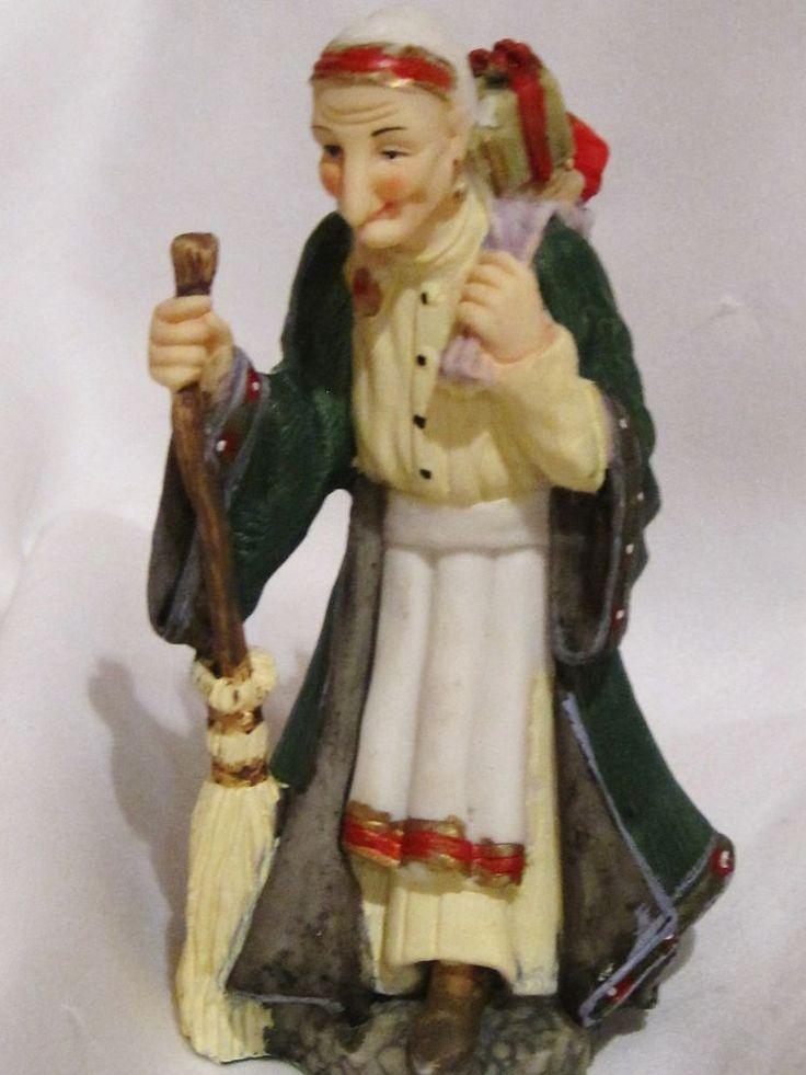 La Befana Figurine The International Santa Claus