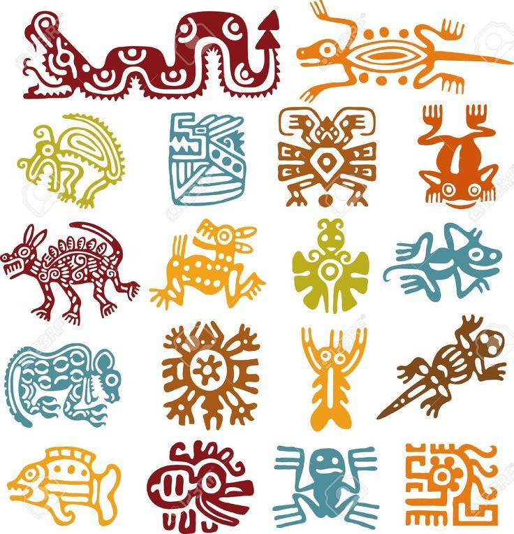 abstract art animal maya Recherche Google peinture