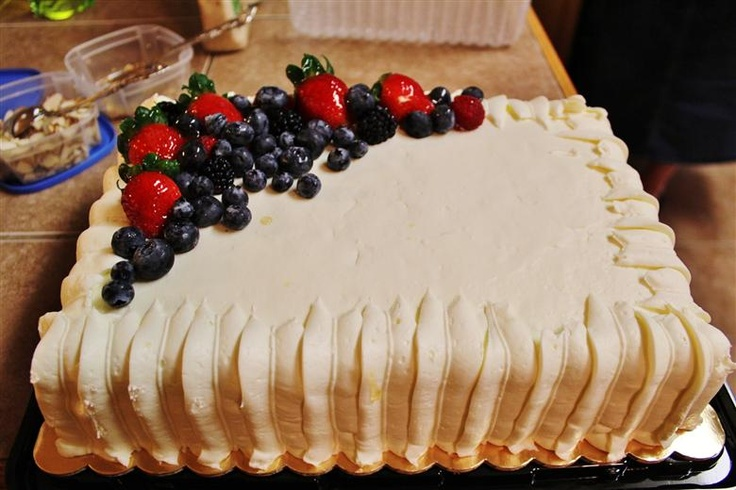 Whole foods, Birthday cakes and Berries on Pinterest