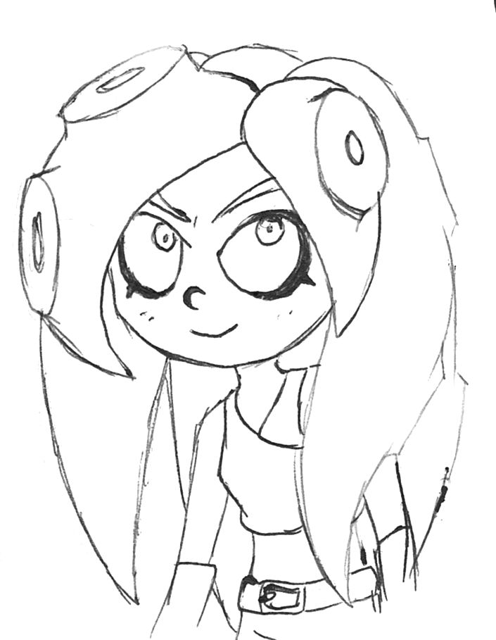 splatoon squid coloring pages coloring pages