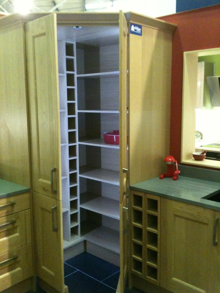 Corner pantry (Wickes, Hedge End, UK) Kitchen