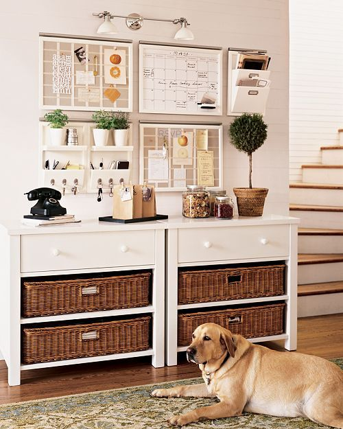 Home Organization: Kitchen Command Center + Meal Planning Organizers from http://annezca.blogspot.com: