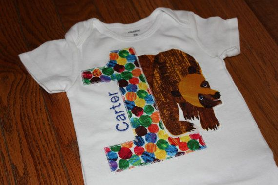Brown Bear Birthday shirt