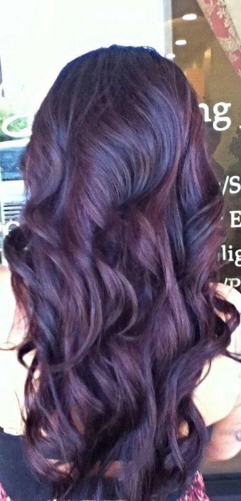 25 Best Ideas About Burgundy Plum Hair On Pinterest