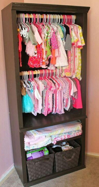 bookcase closet – great ide