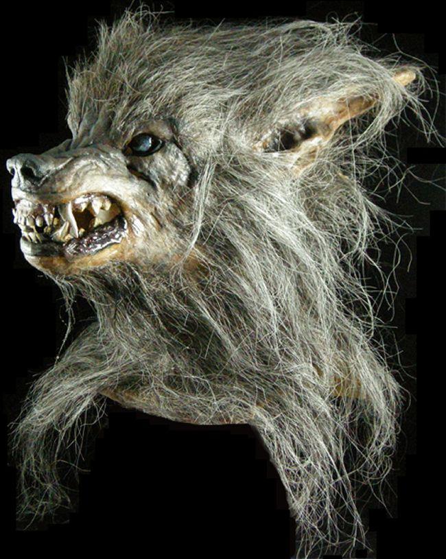 halloween mask bad moon werewolf Make Believe