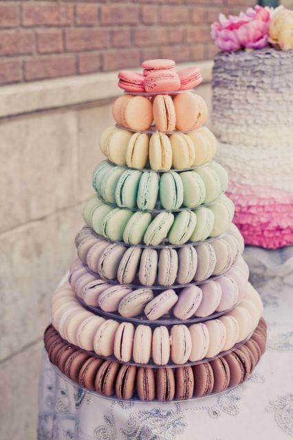 Color Trend: Ombré Wedding Ideas - www.theperfectpalette.com - Color Ideas for Weddings + Parties!