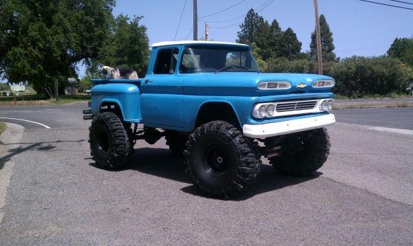 1960 Chevy Apache Monster Truck.
