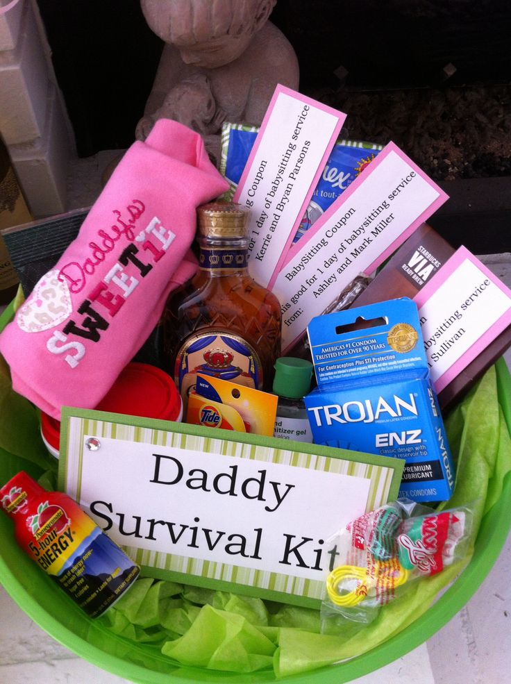Daddy survival kit made for colton pinterest