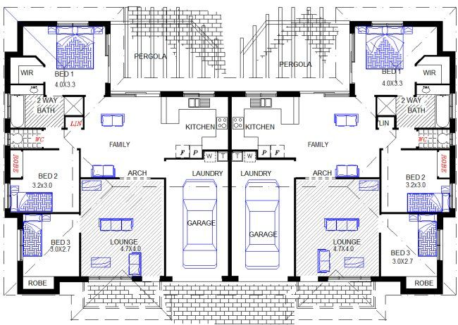 17 Best Images About Multiple Family House Plans On