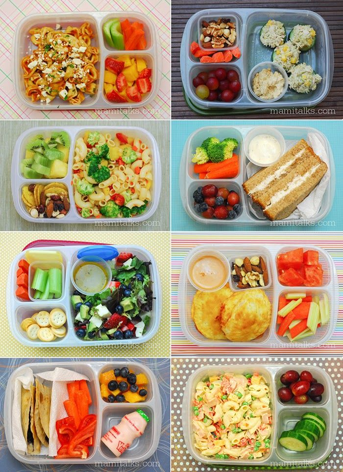 TONS of easy to pack lunches for school and work! with
