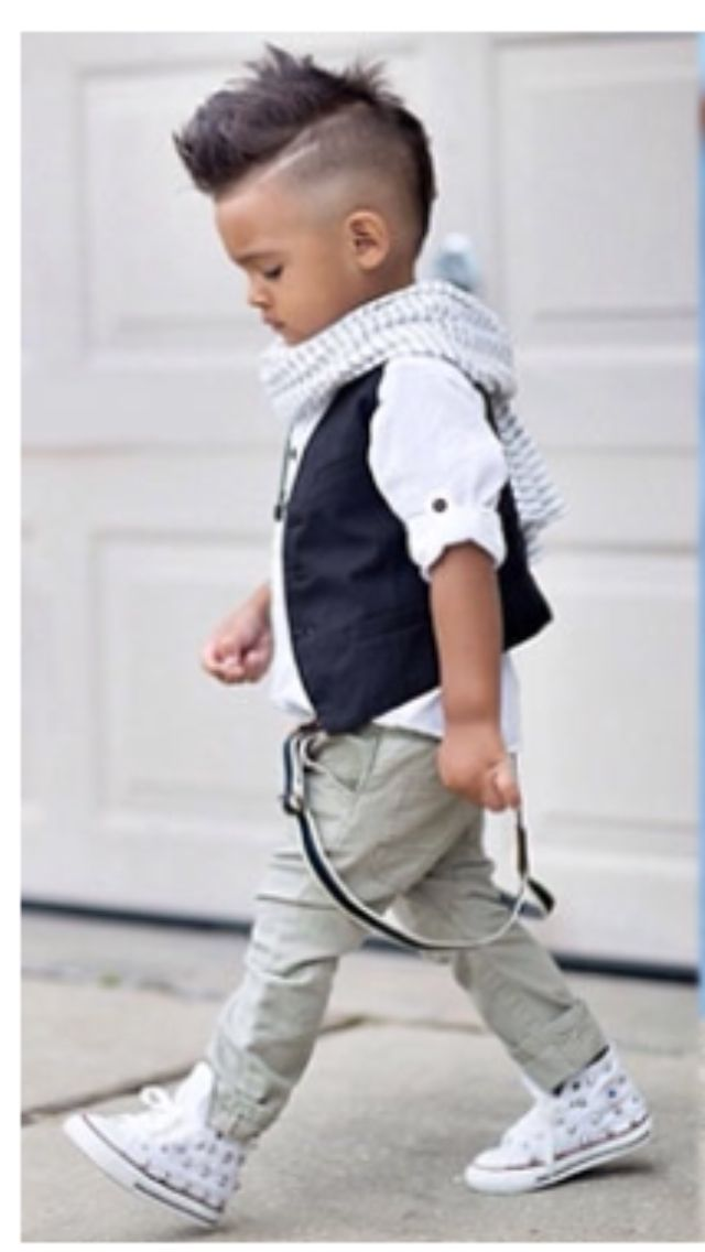 Adorable little people fashion | Boys! No way + haircut and everything!  #PrettyPerfectKids   Fashionista Kiddos // Pretty Perfect