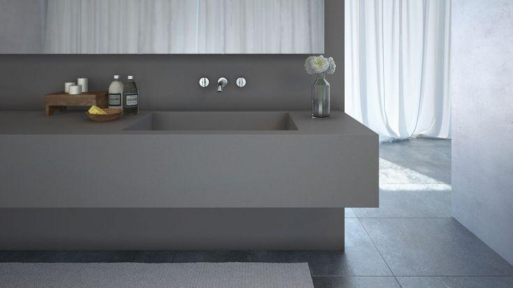 The New Sleek Concrete 4003 Model By Caesarstone Http