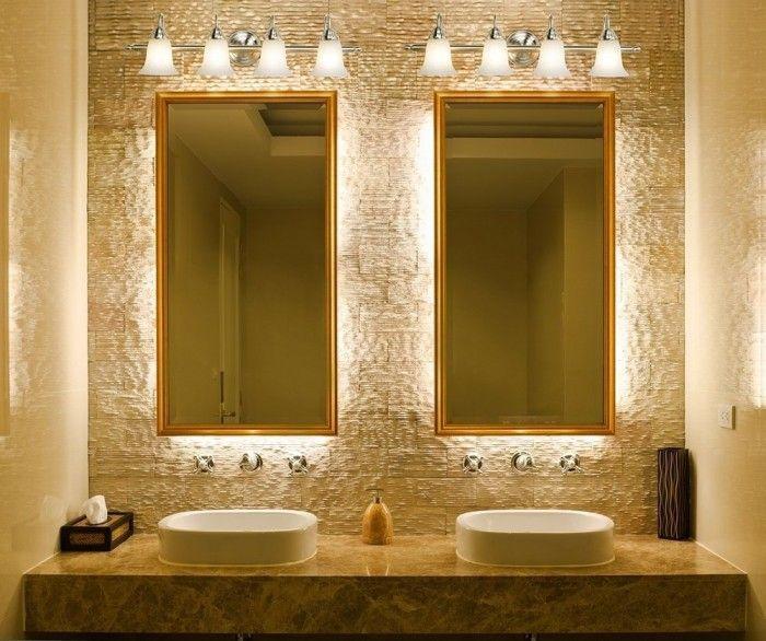 Bathroom Lighting Fixtures Over Mirror For Double Sink And