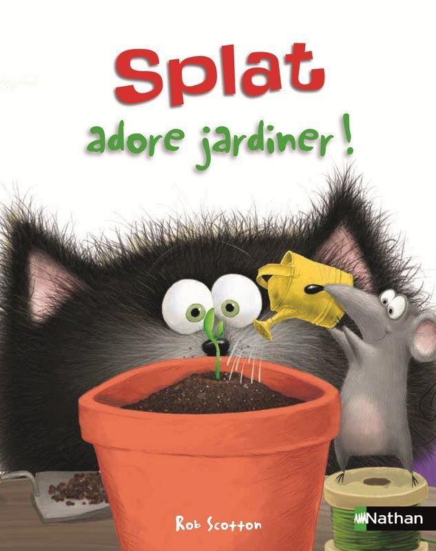 Splat Cat Reading