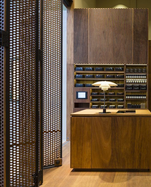 Perforated Panels Folsom Lobby And Amenities Pinterest