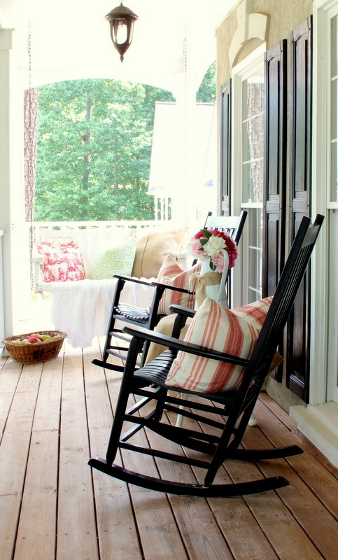 Rocker chairs on a porch. So simple, yet so perfect