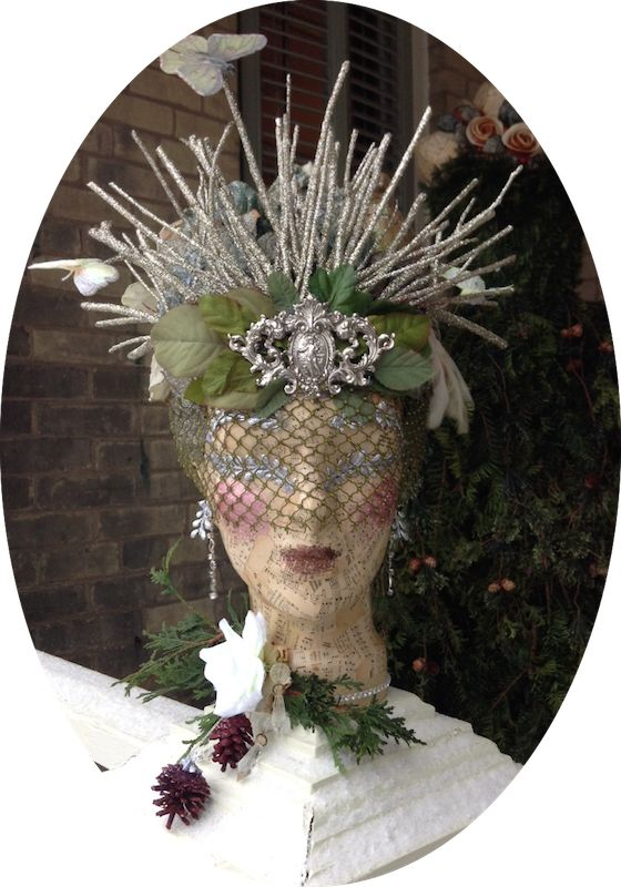 The Dusty Victorian Christmas Headdress 2014 The