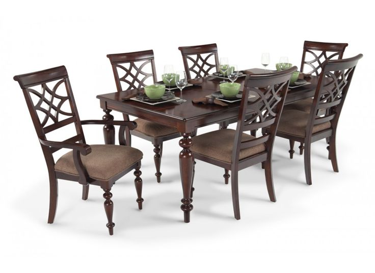Woodmark 7 Piece Dining Set Dining Room Sets Dining Room Bobs Discount Furniture