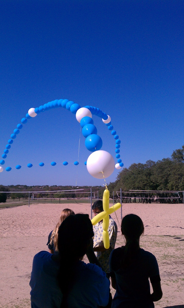 Floating Rosary.... amazing idea. You can teach kids about