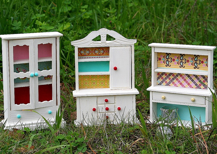 Dolls House Furniture Doll House Pinterest Dress Up Repurposed And Scrapbook Paper