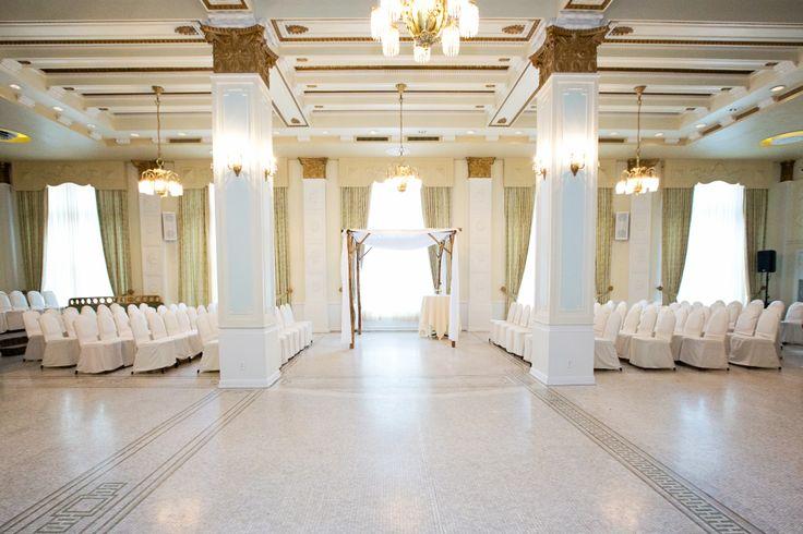 Ceremony Site Crystal Ballroom Hotel Lafayette Buffalo Ny Huppah My Winter Wedding