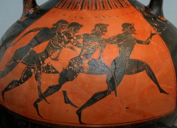 Orsippus Of Megara Was An Ancient Greek Athlete Who Won
