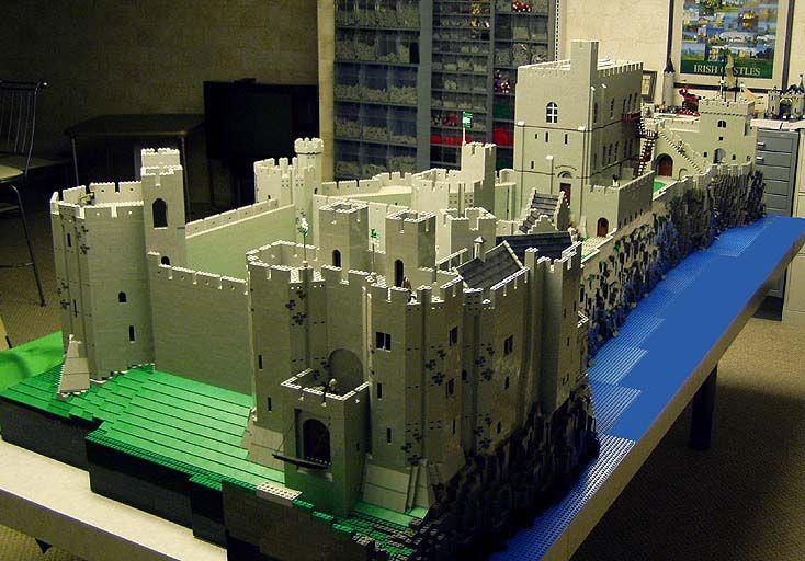 Bob Carney Is Like A Lego Demi God His Lego Castles 100