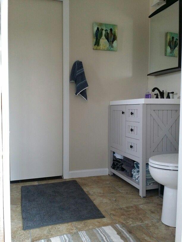 Bathroom Renovations 2014 Martha Stewart Vanity Benjamin
