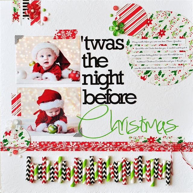 78 Images About Scrapbook Layouts Christmas On Pinterest