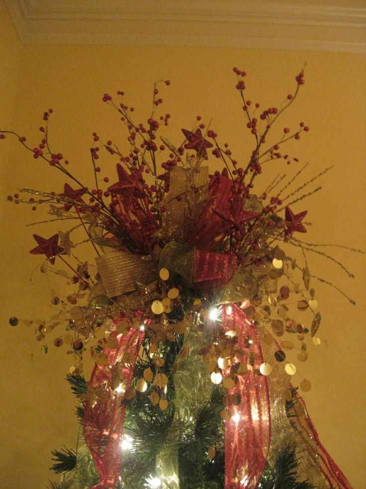 Kristen's Creations How To Make A Tree Topper! (Bow