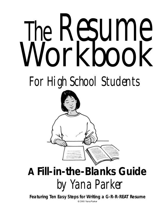 1000 ideas about high school resume on pinterest student resume