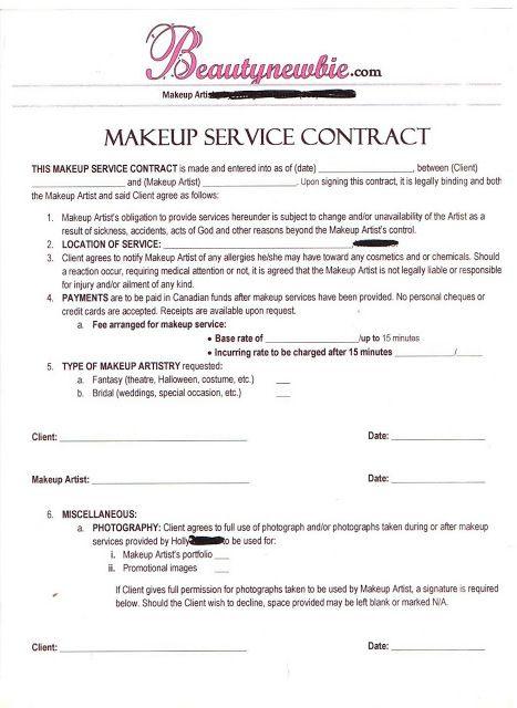 Makeup  service contract Sickening No Pinterest