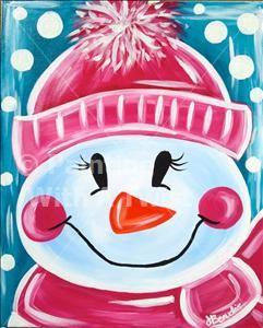 Paint with a Twist Farmington   Let It Snow – Ferndale, MI Painting Class – Painting with a Twist