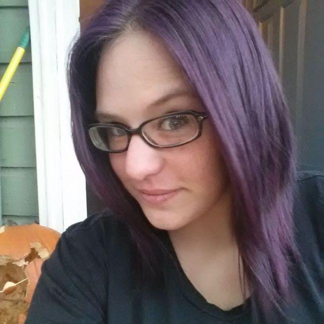Purple Splat Hair Dye Without Bleach