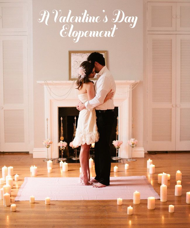 A Valentines Day Elopement Small Intimate Wedding