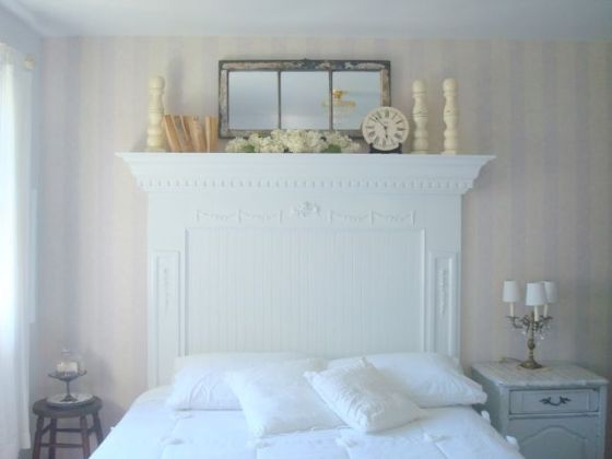 17 Best ideas about Mantel Headboard on Pinterest   Mantle headboard     Search Box