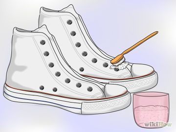 How to clean white converse or keds….for future reference if i ever get a pair