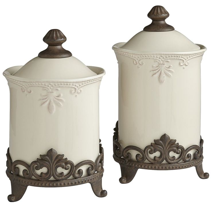 Canisters Amp Stands Kitchen Canisters Tuscan Style And