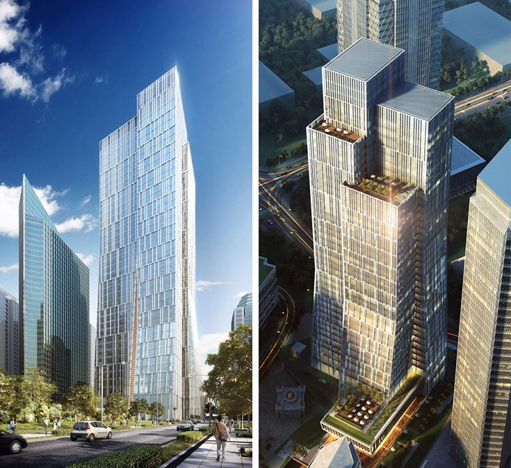 the sequis centre tower by KPF in jakarta, indonesia