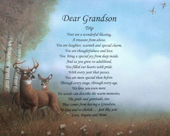 God Made Grandsons Poem Google Search Grandparents