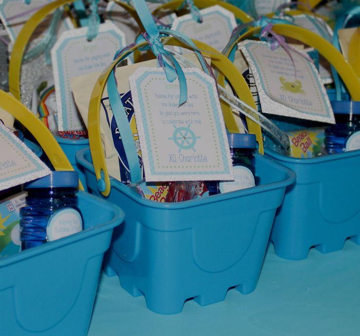 Project Nursery – Mermaid Party Under the Sea Birthday Party –  Favors #Mermaid