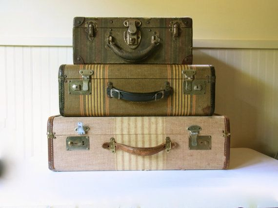 25 Best Ideas About Old Luggage On Pinterest Recycled Furniture Suitcase Table And Suitcase