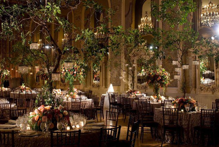 Indoor Garden Wedding Bring The Outdoors In Wedding