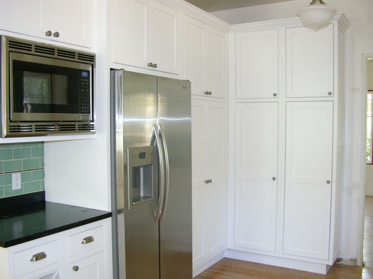 Built In Microwave Amp Counter Depth Refrigerator Cultivatecom Subway Tile Kitchens