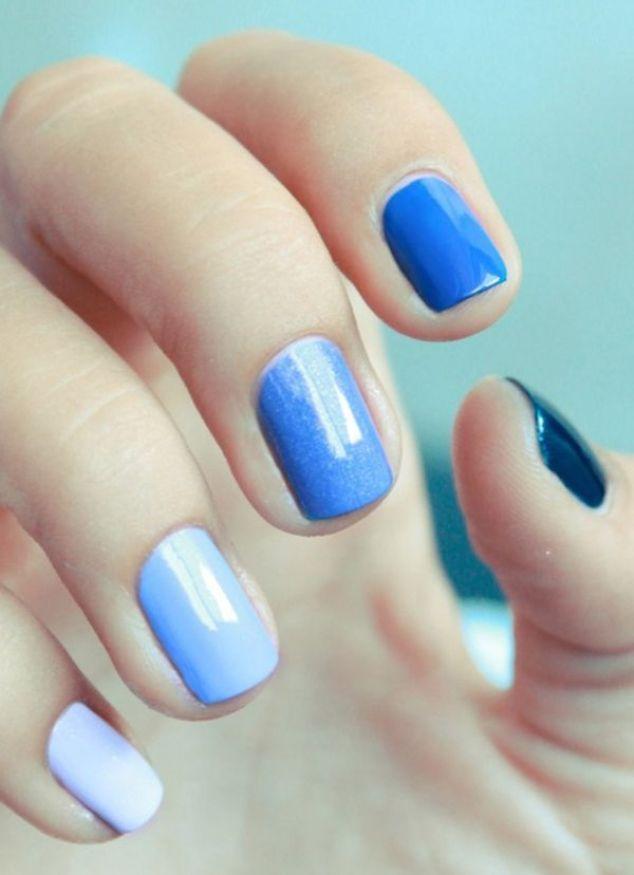 moda en uñas cortas una diferente - Buscar con Google: