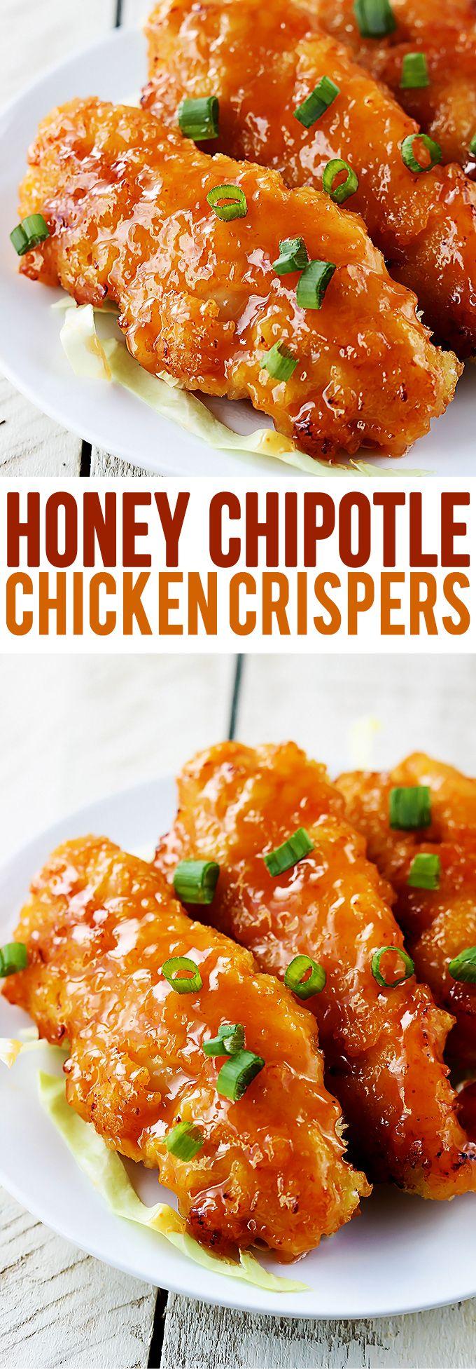Honey Chipotle Chicken Crispers