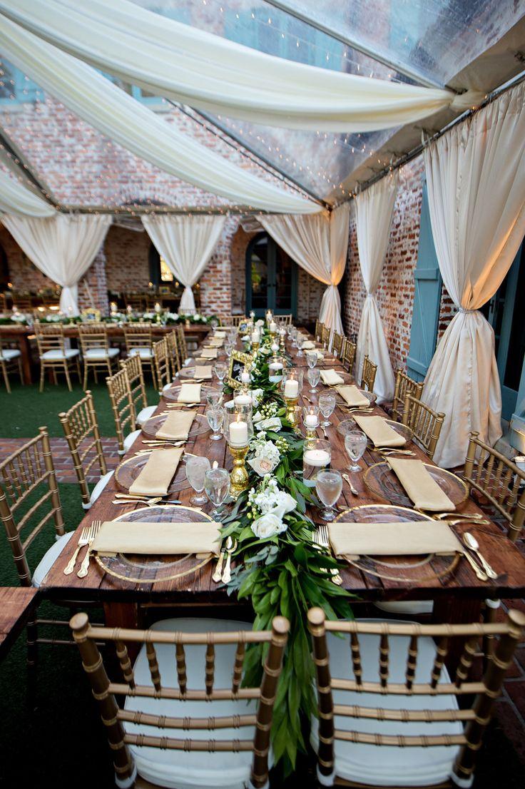 Luxury Garden Wedding In Winter Park Florida At Casa Feliz Receptions Winter Park Florida