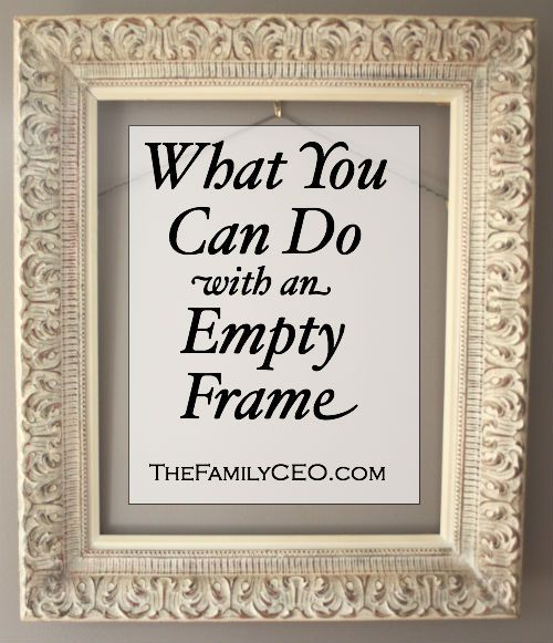 Things to Do with an Empty