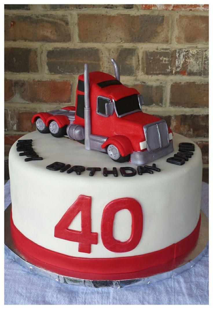 Best 25 Truck Birthday Cakes Ideas On Pinterest Monster
